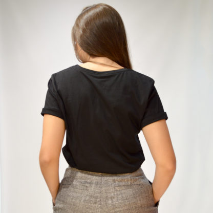 Camiseta negra mensaje Don't Quit Imperial