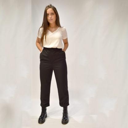 Pantalón culotte cintura cruzada Please