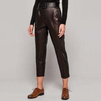 Pantalón de vestir bronce tornasolado Access