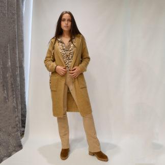 Maxi chaqueta con capucha La Fée Maraboutée