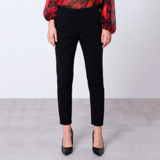 Pantalón negro pitillo cintura elástica Imperial