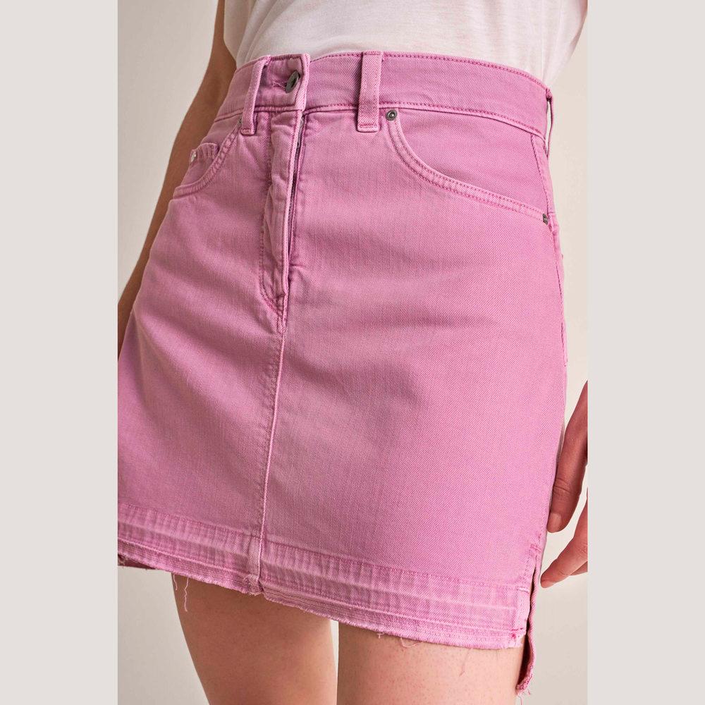 Minifalda push in secret glamour teñida Salsa Jeans