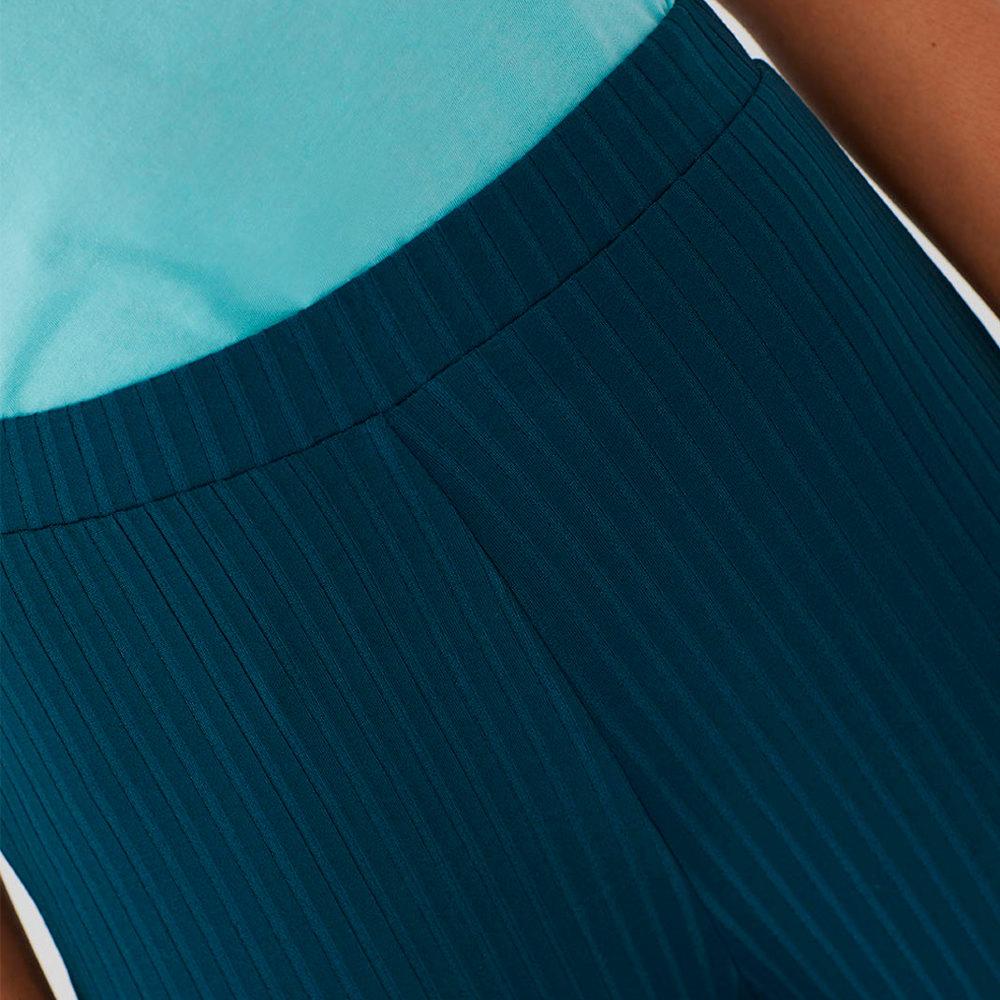 Pantalón culotte de canalé Nice Things en gus gus boutique