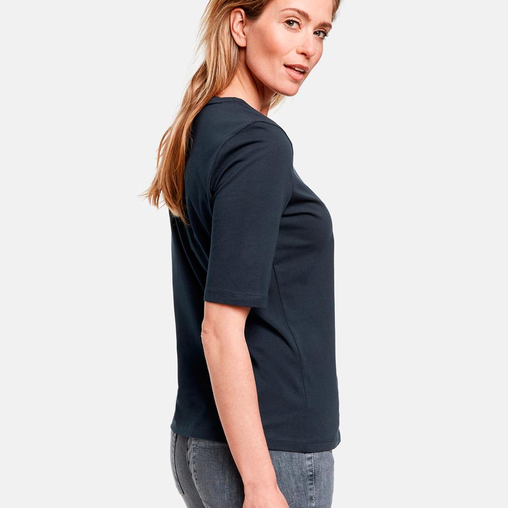 Camiseta blanca basica algodon organico Gerry Weber