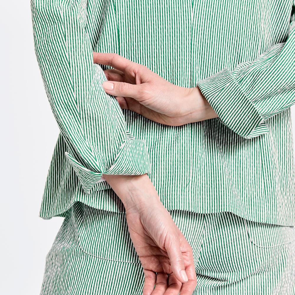 Americana rayas finas verde Gerry Weber en gus gus boutique