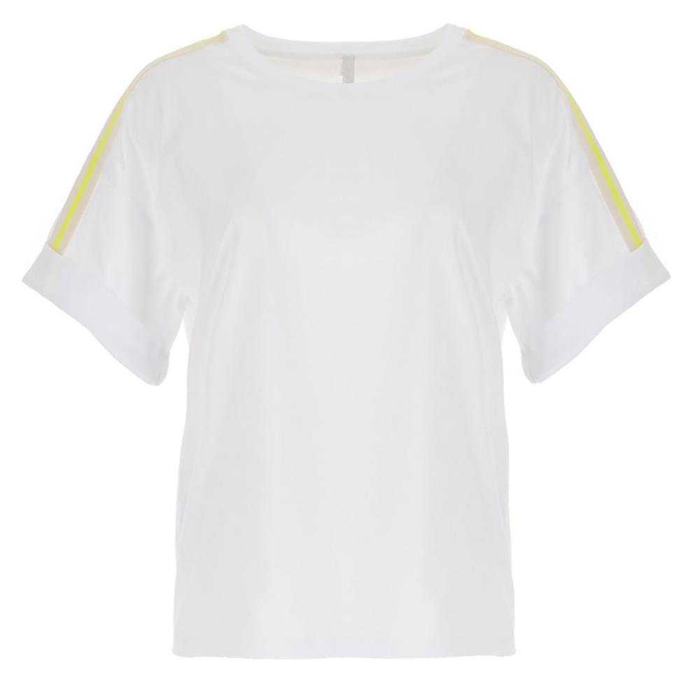 Camiseta over manga corta destalle sport Imperial Fashion