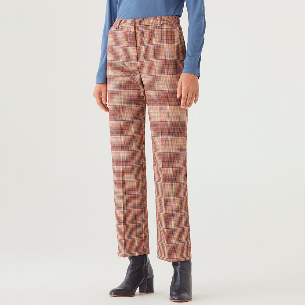 Pantalon sastre recto cuadro Gales nice things en gus gus boutique