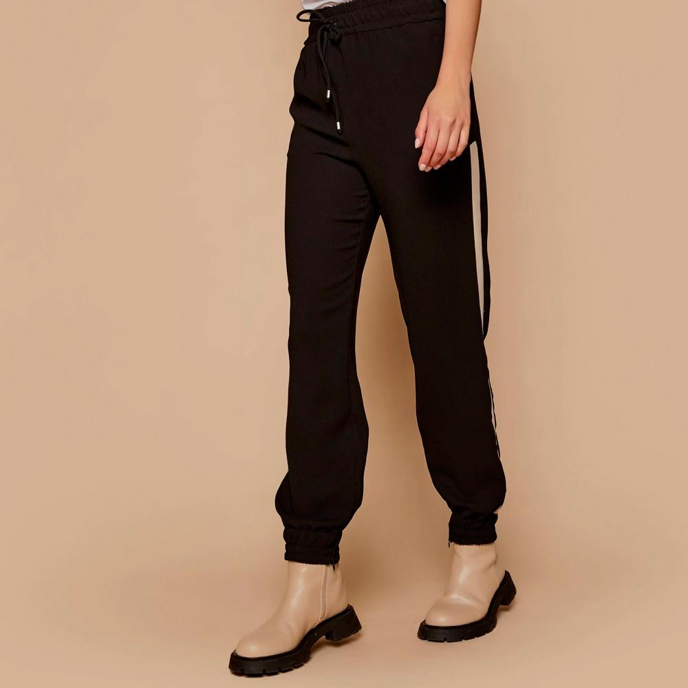 Pantalón jogger con raya lateral en contraste Access en gus gus boutique